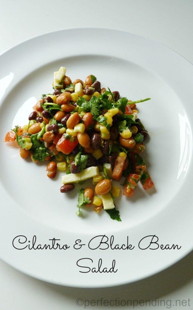 Cilantro & Black Bean Salad