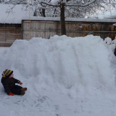 Now, That's a LOT of snow!