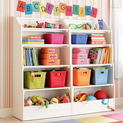 Organization. It's All About The Multi-Colored Baskets. Truly.