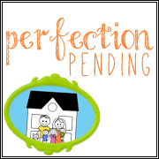 Perfection Pending Blog Button