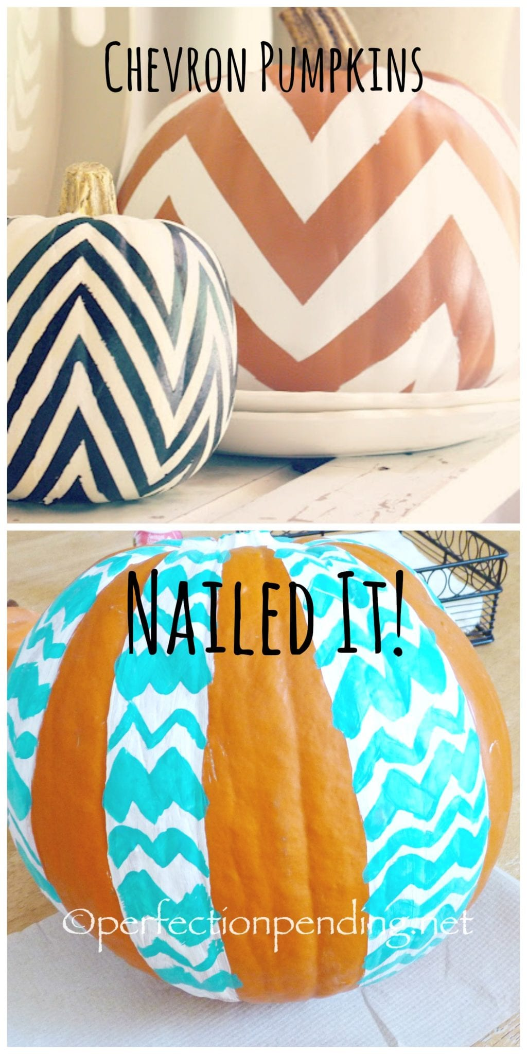 Chevron Peer Pressure. Don't Give In. The Story of a Pinterest Fail.