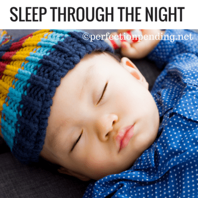 Why It's Pointless To Be In A Hurry For Your Baby To Sleep Through The Night