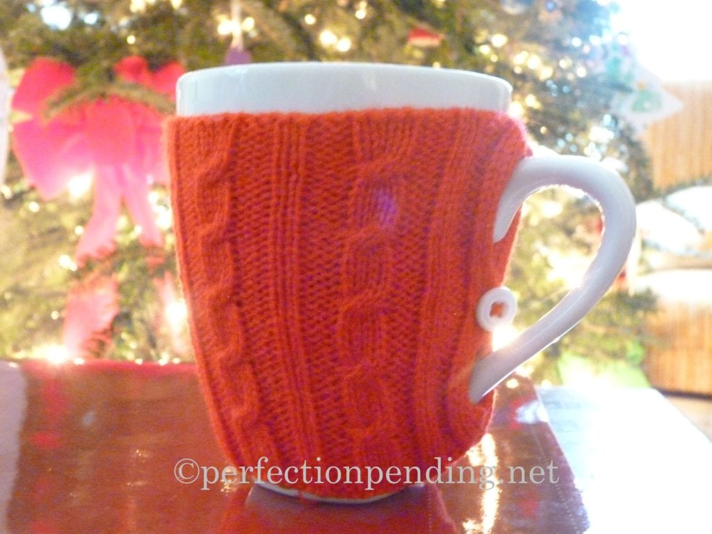 Mug With a Sweater On at Perfection Pending