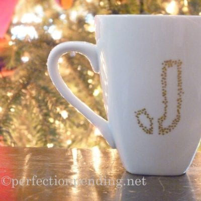 Teacher Gift Idea: Personalized Sharpie Mugs