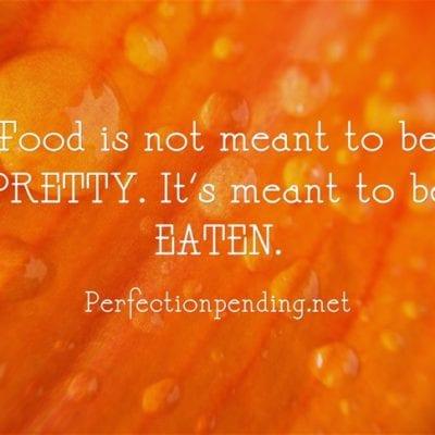 5 Reasons I'll Never Be a Food Blogger.