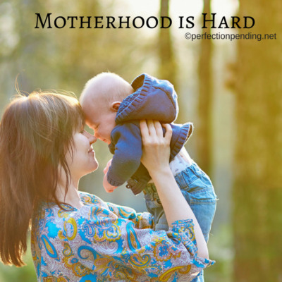 Why I Believe It's OK To Say Out Loud That Motherhood Is Hard