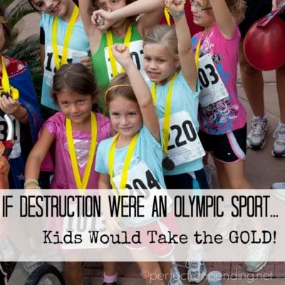 My Kids Would Be Olympians If….