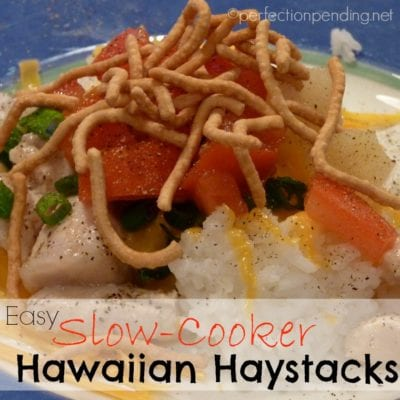 Slow-Cooker Hawaiian Haystacks