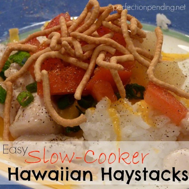 Hawaiin Haystacks