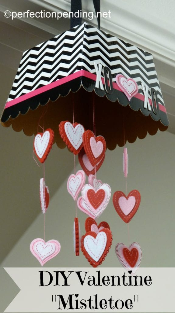 Valentine Mistletoe Door Hanging