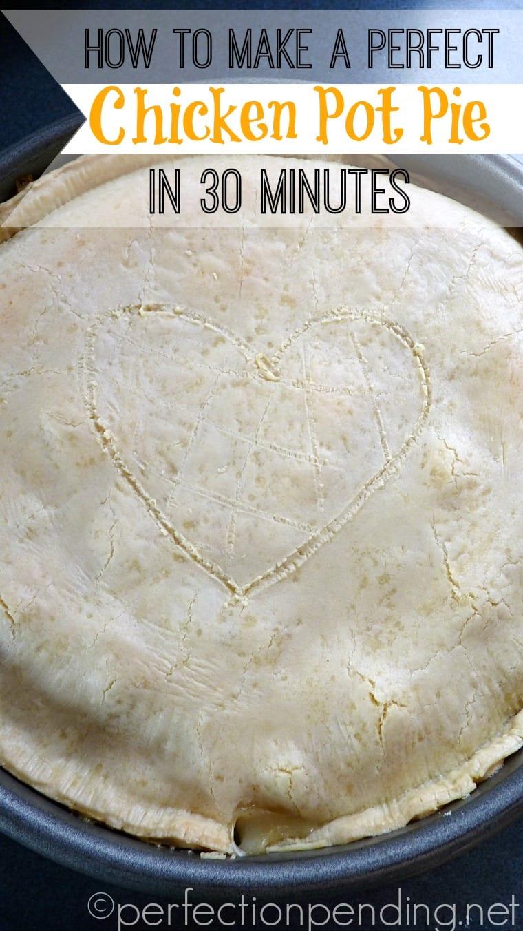 Make a Yummy Chicken Pot Pie Your Kids Will LOVE
