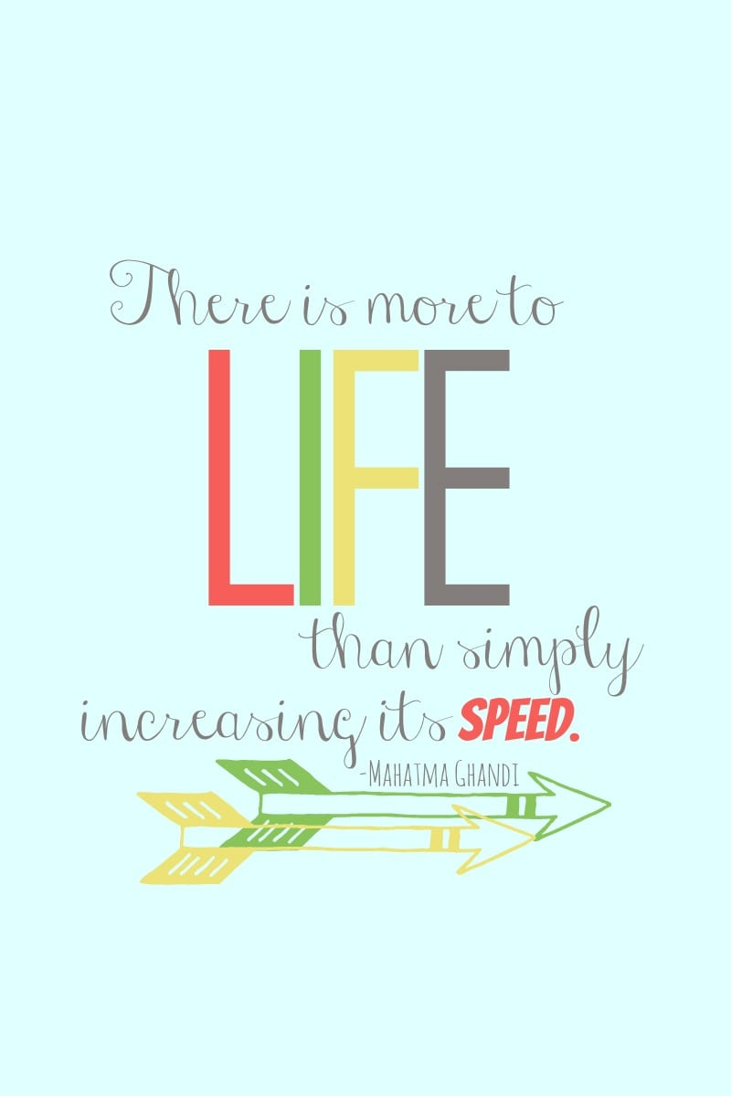 There is More to LIFE than simply increasing its speed