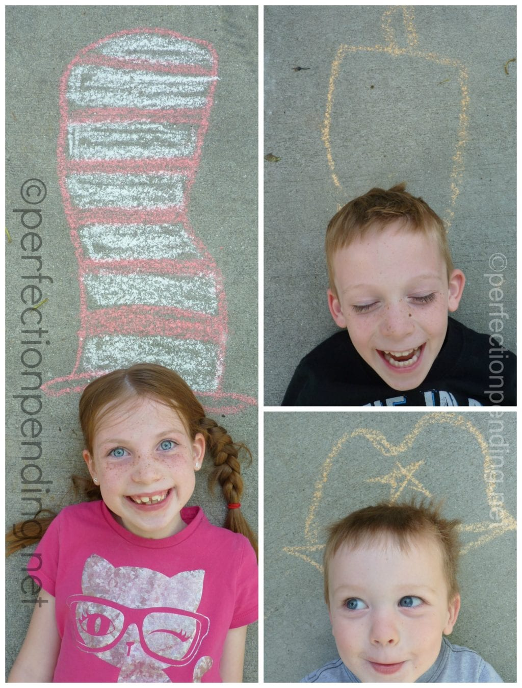 Create Chalk hats for summer fun for your kids!