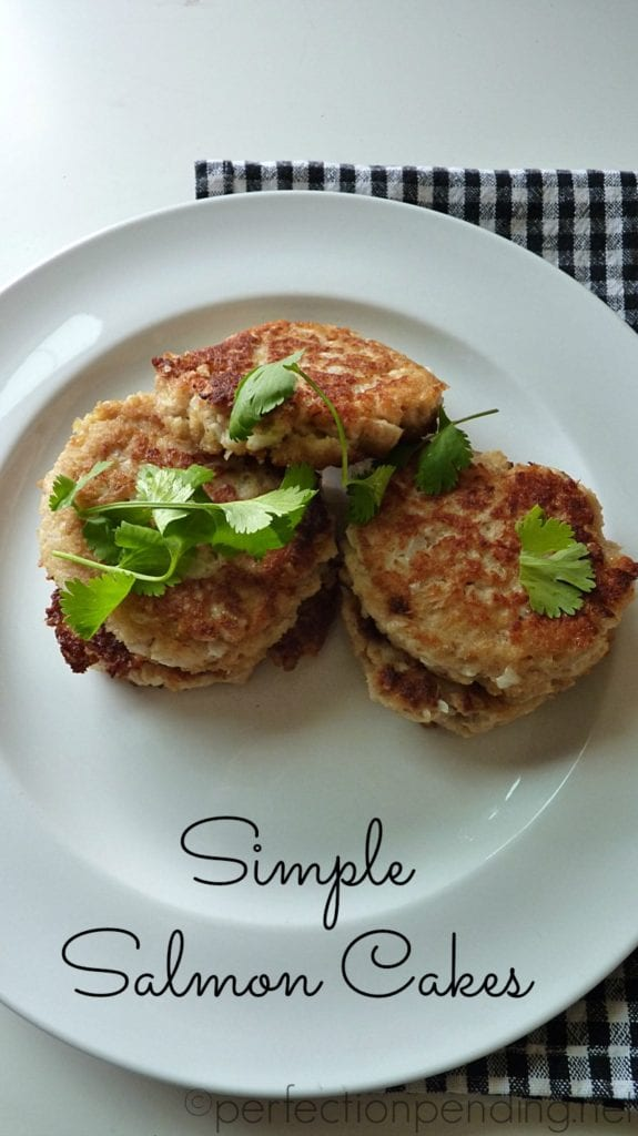 Simple Salmon Cakes You Can Make in 20 Minutes and Your Kids Will Eat Them Too!!