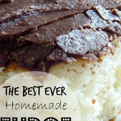 Best Ever Homemade Fudge Icing