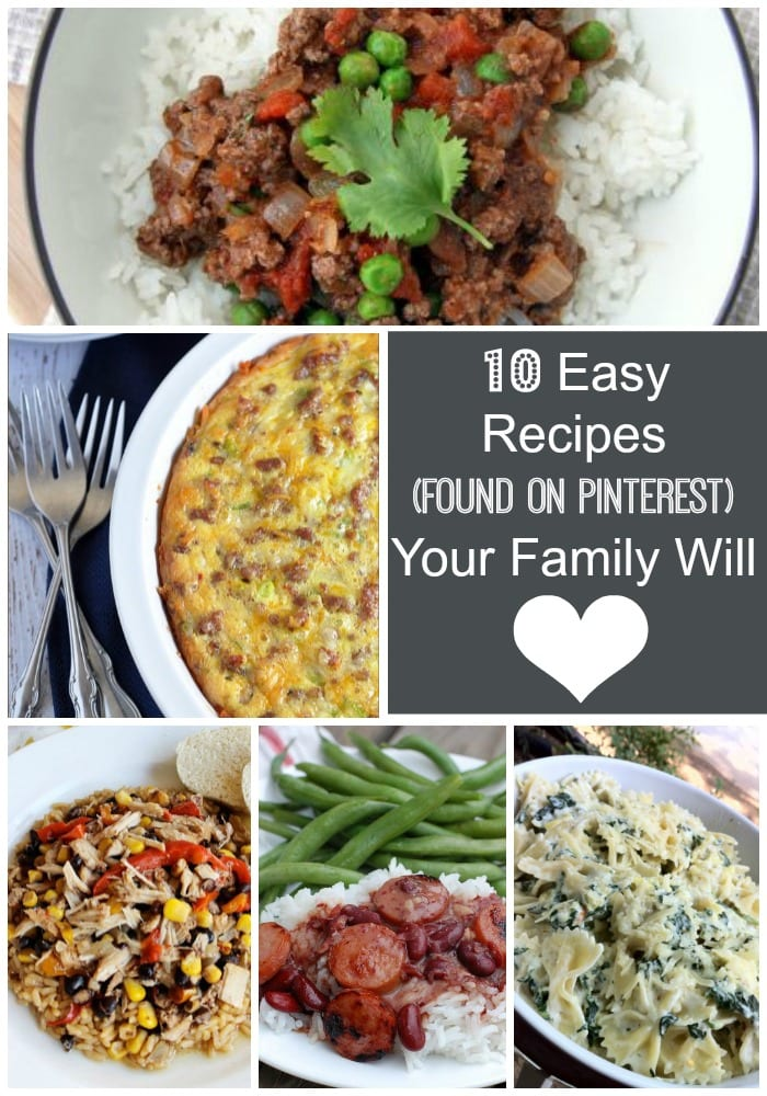10 Recipes Your Family Will Love. I know Because I've Tried Them All