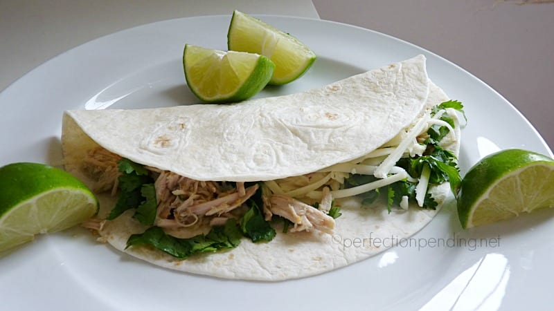 Slow Cooker Pork Carnitas. Only 3 Ingredients and SUPER easy