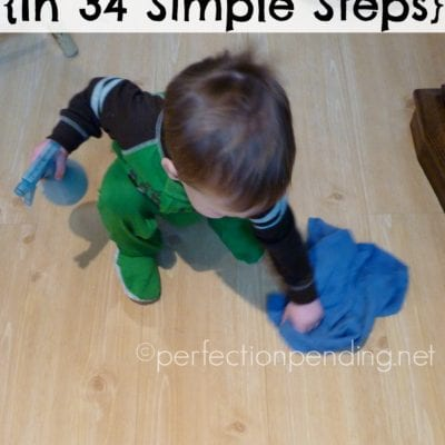 How to Let Your Kids Help In 34 Simple Steps
