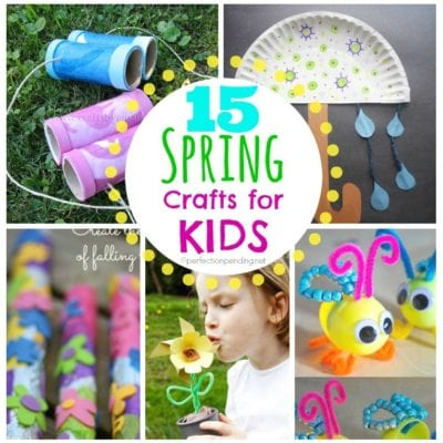 15 Spring Kids Crafts