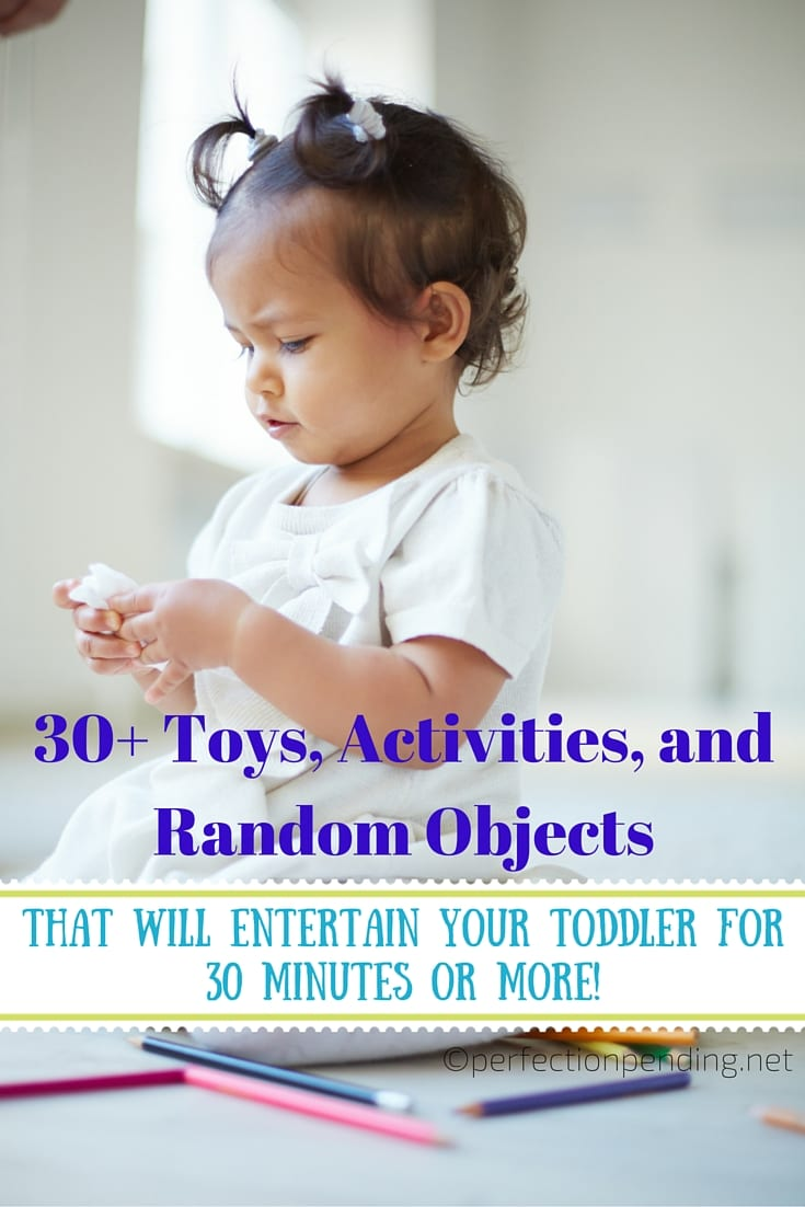 30 Toddler Activities That Will Give You At Least 30 Minutes Of