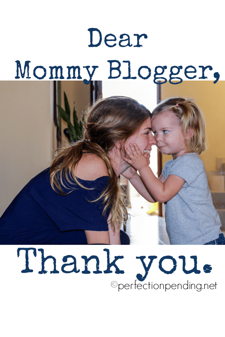Dear Mommy Blogger