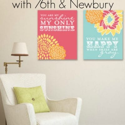 Personalized Gift Idea: 76th & Newbury