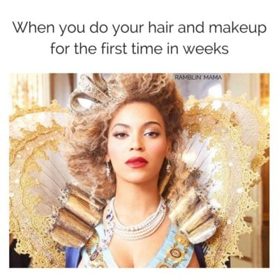 13 Memes That Perfectly Describe The Struggle That Is Trying To Look Nice When You Have Kids