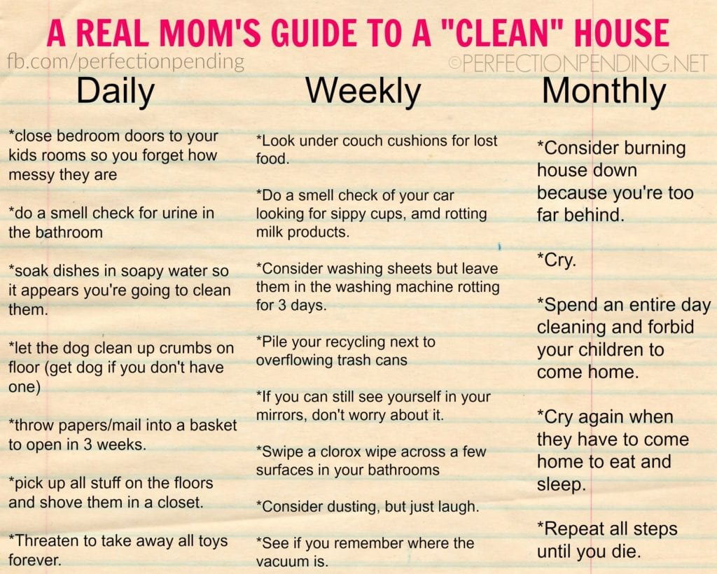 Keeping The House Clean When You Have Kids Is Practically Impossible Unless Use This