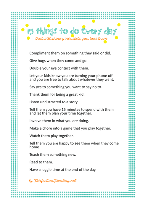 9 Uplifting Things To Say To Your Kids Every Day ...