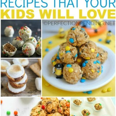 25 Energy Bite Recipes Your Kids Will Love