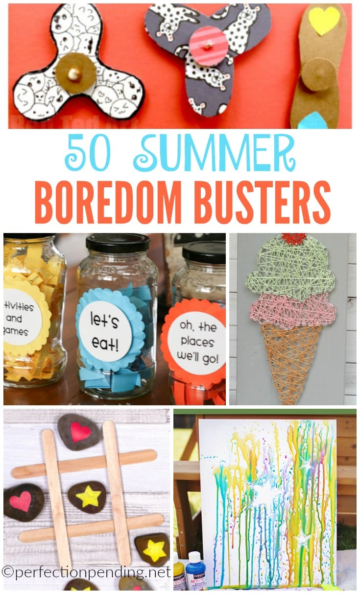 50 Summer Boredom Busters For Kids Perfection Pending