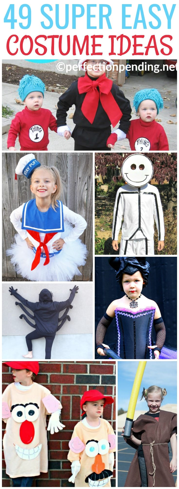 49 easy diy halloween costumes for kids - perfection pending