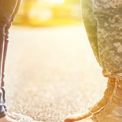 It's Not About The Boots. What Military Deployment Feels Like For The Family Left Behind.