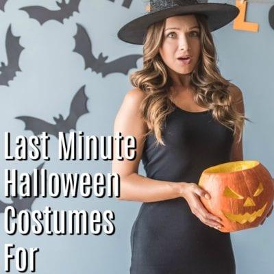 7 Last Minute Halloween Costume Ideas for Slacker Moms