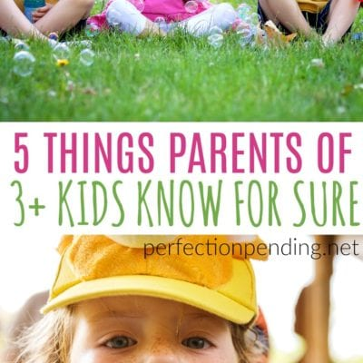5 Things Every Parent of Three (Or More) Kids Knows For Sure