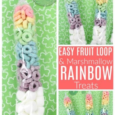 Easy Rainbow Treats For St. Patrick's Day