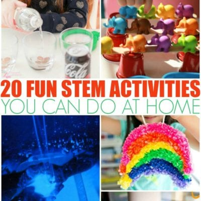 19 STEM Activities For Kids You Can Do At Home