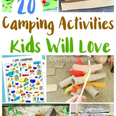 20+ Camping Activities Your Kids Will Love