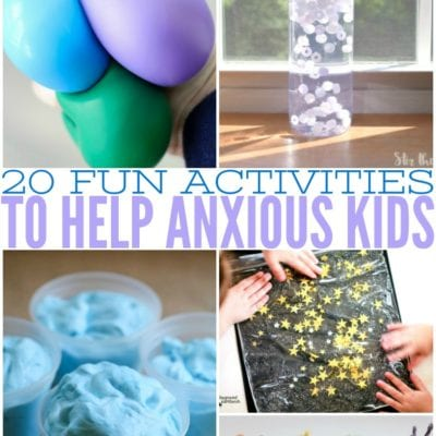 20 Fun Activities To Help Kids With Anxiety