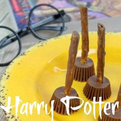 Easy Harry Potter Broomsticks Halloween Treat
