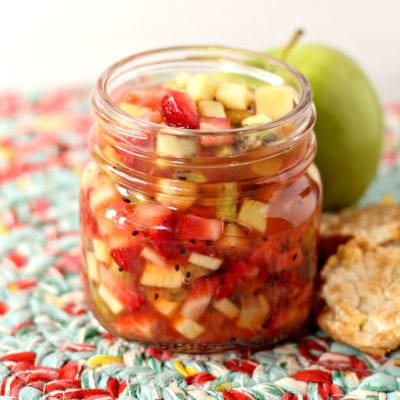 Apple Berry Summer Salsa