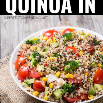 The Easiest Way to Cook Quinoa (In The Microwave)