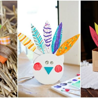 Easy Turkey Crafts And Thanksgiving Activities For Kids
