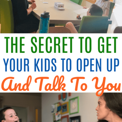 The BEST Secret To Get Your Kids To Talk To You – Poobah