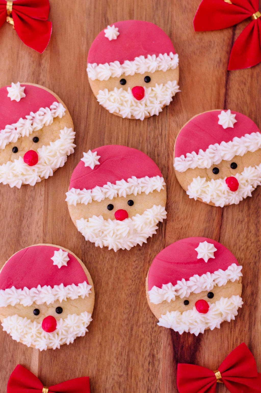 Super Easy Santa Sugar Cookies Perfection Pending