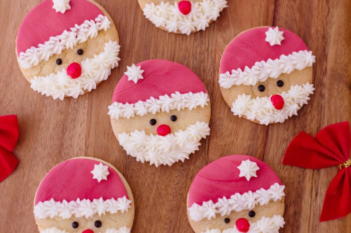 Super Easy Santa Sugar Cookies Perfection Pending