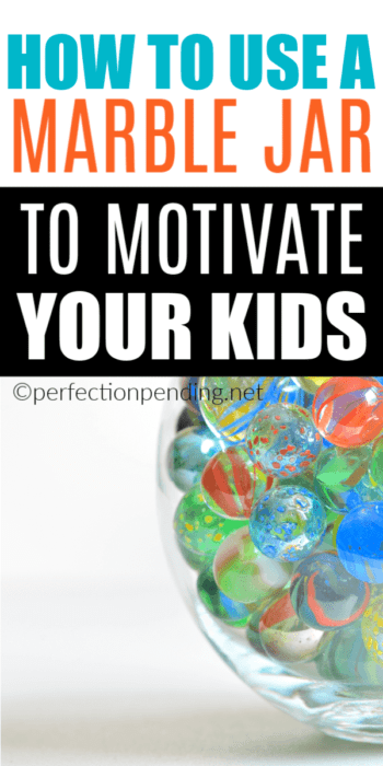 We are all looking for positive parenting solutions, and we have a unique way to motivate good behavior and reward it, using a marble jar instead of a reward chart. This works great for preschoolers and elementary aged kids. #positiveparenting #rewards #rewardchart #behavior