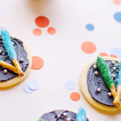 Easy Lightsaber Cookies For Your Star Wars Party