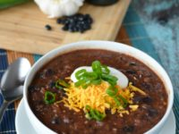 Easy 30 Minute Black Bean Soup